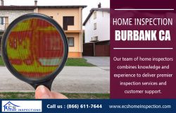 Home Inspection Burbank CA