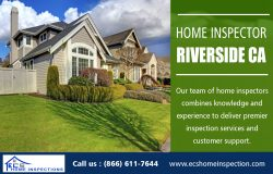 Home Inspector in Riverside CA