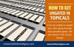 How to Get Ungated in Topicals   thefunnelguru.com