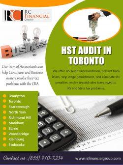 HST Audit in Toronto