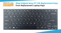 Shop Original Sony FIT 14E Replacement Keys from Replacement Laptop Keys