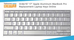Order 15″ 17″ Apple Aluminum MacBook Pro Replacement Laptop Keys Online