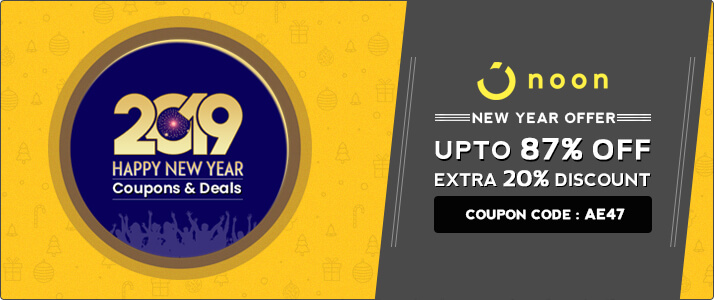 Noon Exclusive Coupon Code – Get 87% Off + Extra 20% Off on Orders Online