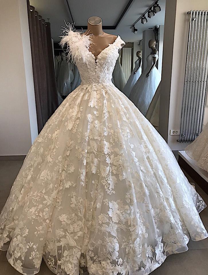 Elegante Brautkleider Prinzessin | A Linie Hochzeitskleid Günstig Online