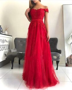 Rote Abendkleider Lang Günstig | Elegante Abendmoden Mit Spitze
