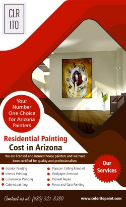 Residential PaintingCost in Arizona