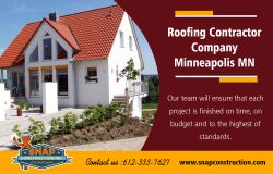 Roofing Contractor Company Minneapolis MN