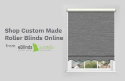 Shop Custom Made Roller Blinds Online from eBlinds Australia