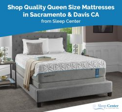 Shop Quality Queen Size Mattresses in Sacramento & Davis CA from Sleep Center