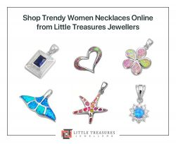 Shop Trendy Women Necklaces Online from Little Treasures Jewellers
