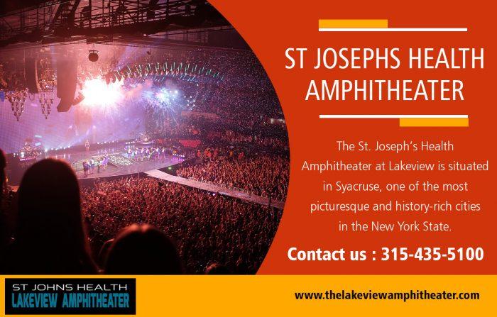 St Josephs Health Amphitheater Tickets