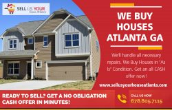 We Buy Houses Atlanta GA|www.sellusyourhouseatlanta.com|6788057115