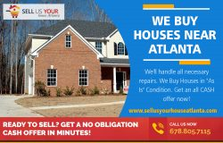 We Buy Houses near Atlanta|www.sellusyourhouseatlanta.com|6788057115