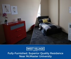Fully-Furnished, Superior Quality Residence Near McMaster University