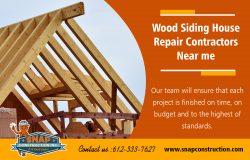 Wood Siding House Repair Contractors Near Me