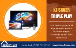 X1 Saver Triple Play | 8554858733 | connectnsave.com