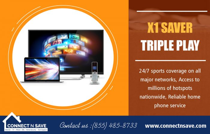 X1 Saver Triple Play | 8554858733 | connectnsave.com
