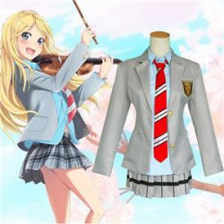 Attractive cosplay student uniforms elegant design costume