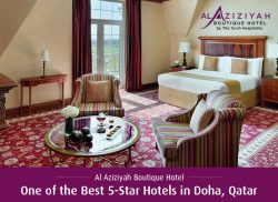 Al Aziziyah Boutique Hotel – One of the Best 5-Star Hotels in Doha, Qatar