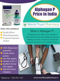 Alphagan P Price in India