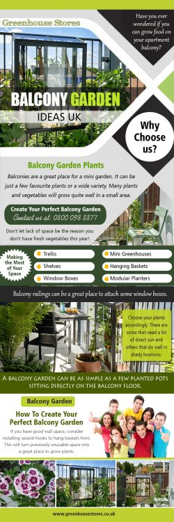 Balcony Garden Ideas UK