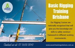 Basic Rigging Training Brisbane
