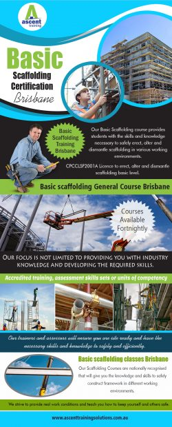 Basic Scaffolding Certification Brisbane