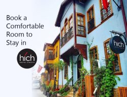 Book a Comfortable Room to Stay in Hich Hotel Konya