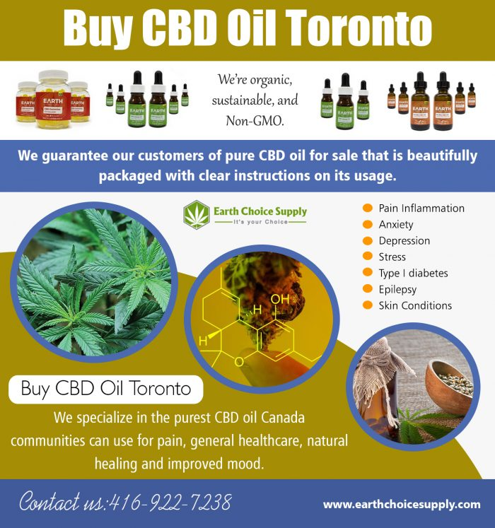 Buy CBD Oil Toronto