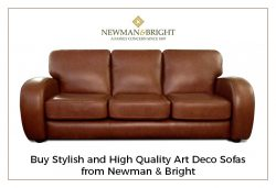 Buy Stylish and High Quality Art Deco Sofas from Newman & Bright