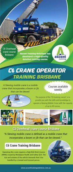 C6 Crane operator training Brisbane