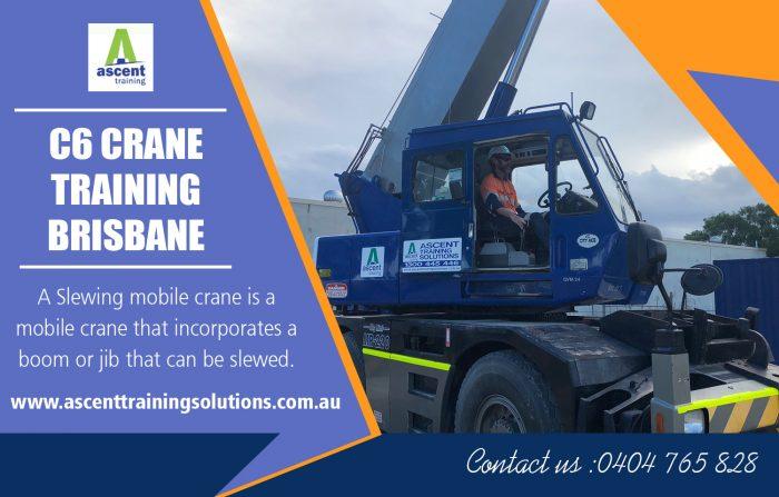 C6 crane training Brisbane