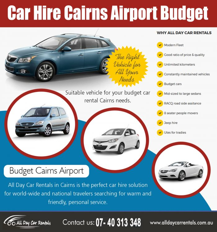Car Hire Cairns Airport Budget | 1800707000 | alldaycarrentals.com.au