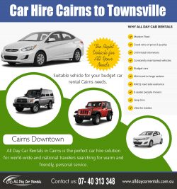 Car Hire Cairns to Townsville | 740313348 | alldaycarrentals.com.au