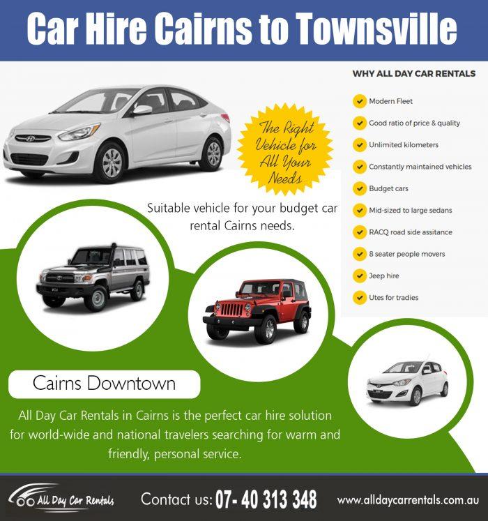 Car Hire Cairns to Townsville | 740313348 | alldaycarrentals.com.au