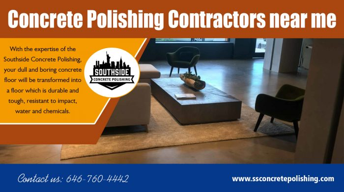 Concrete polishing contractors near me