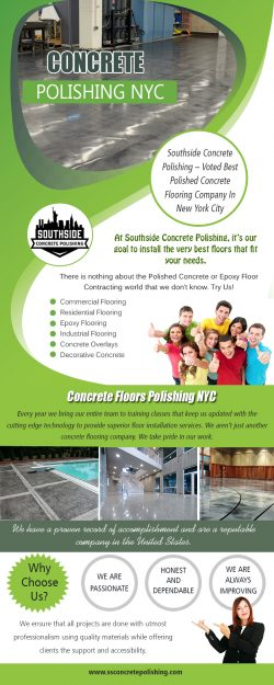 Concrete polishing NYC