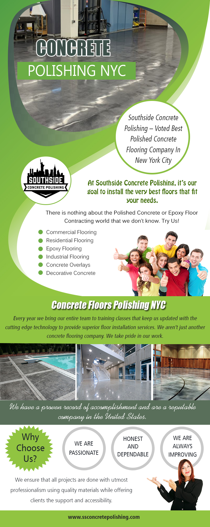 Concrete polishing NYC