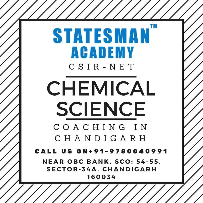 CSIR NET Chemistry Exam Coaching