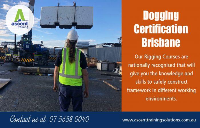 Dogging Certification Brisbane