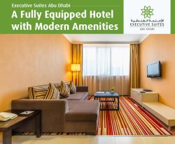 Executive Suites Abu Dhabi – A Fully Equipped Hotel with Modern Amenities