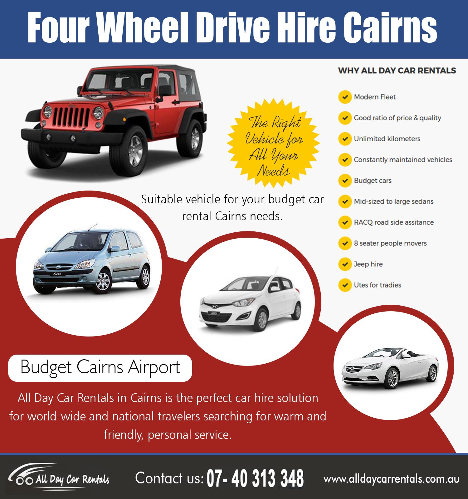 Four Wheel Drive Hire Cairns