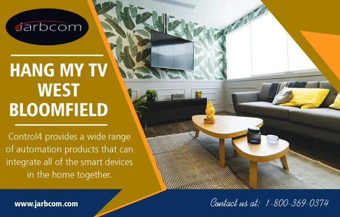 Hang my TV West Bloomfield   Call – 1-800-369-0374   jarbcom.com