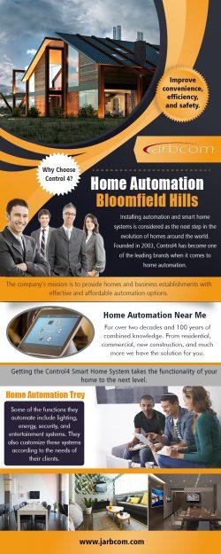Home Automation Bloomfield Hills | Call – 1-800-369-0374 | jarbcom.com