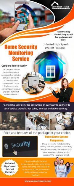 Home Security Monitoring Service | 8554858733 | connectnsave.com