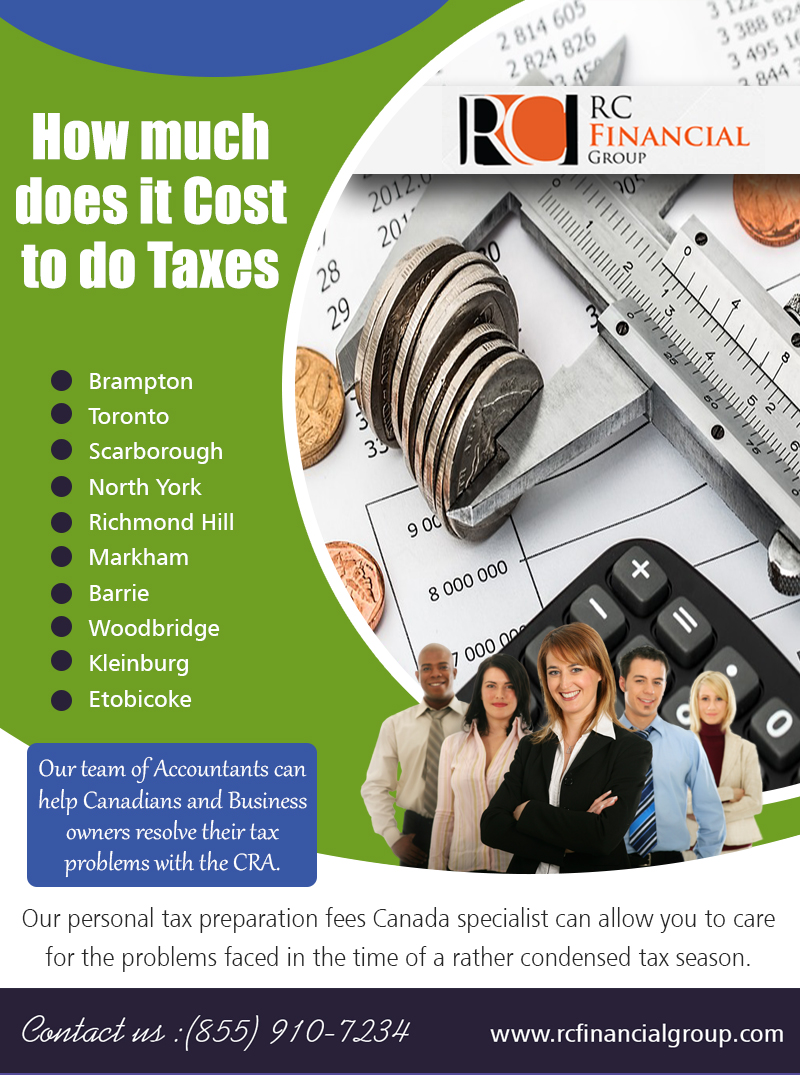 How much Does it Cost to do Taxes