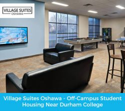 Village Suites Oshawa – Off-Campus Student Housing Near Durham College