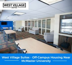 West Village Suites – Off-Campus Housing Near McMaster University
