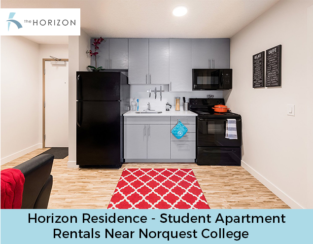 Horizon Residence – Student Apartment Rentals Near Norquest College
