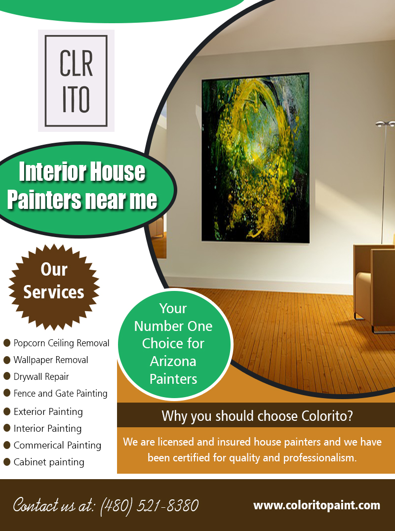 Interior House Painters near me